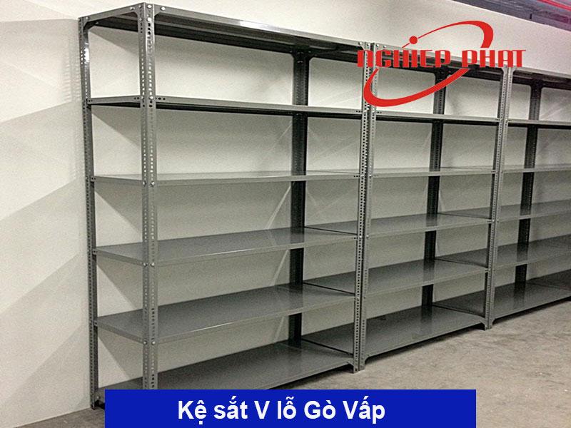 Kệ sắt V lỗ Quận Gò Vấp, Bình Thạnh, Hóc Môn TPHCM giao hàng miễn phí